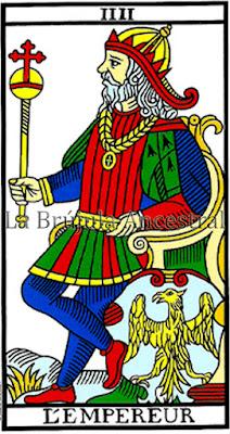 El Emperador Tarot de Marsella