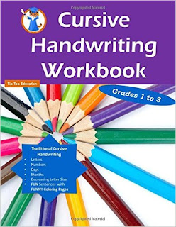 Cursive Handwriting Workbook cover