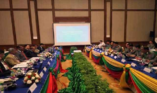 অনুষ্ঠিত হলো বিজিবি-এমপিএফ সীমান্ত সম্মেলন