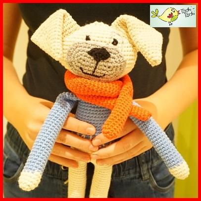 Amigurumi Dog Crochet Pattern | Supergurumi | 406x406
