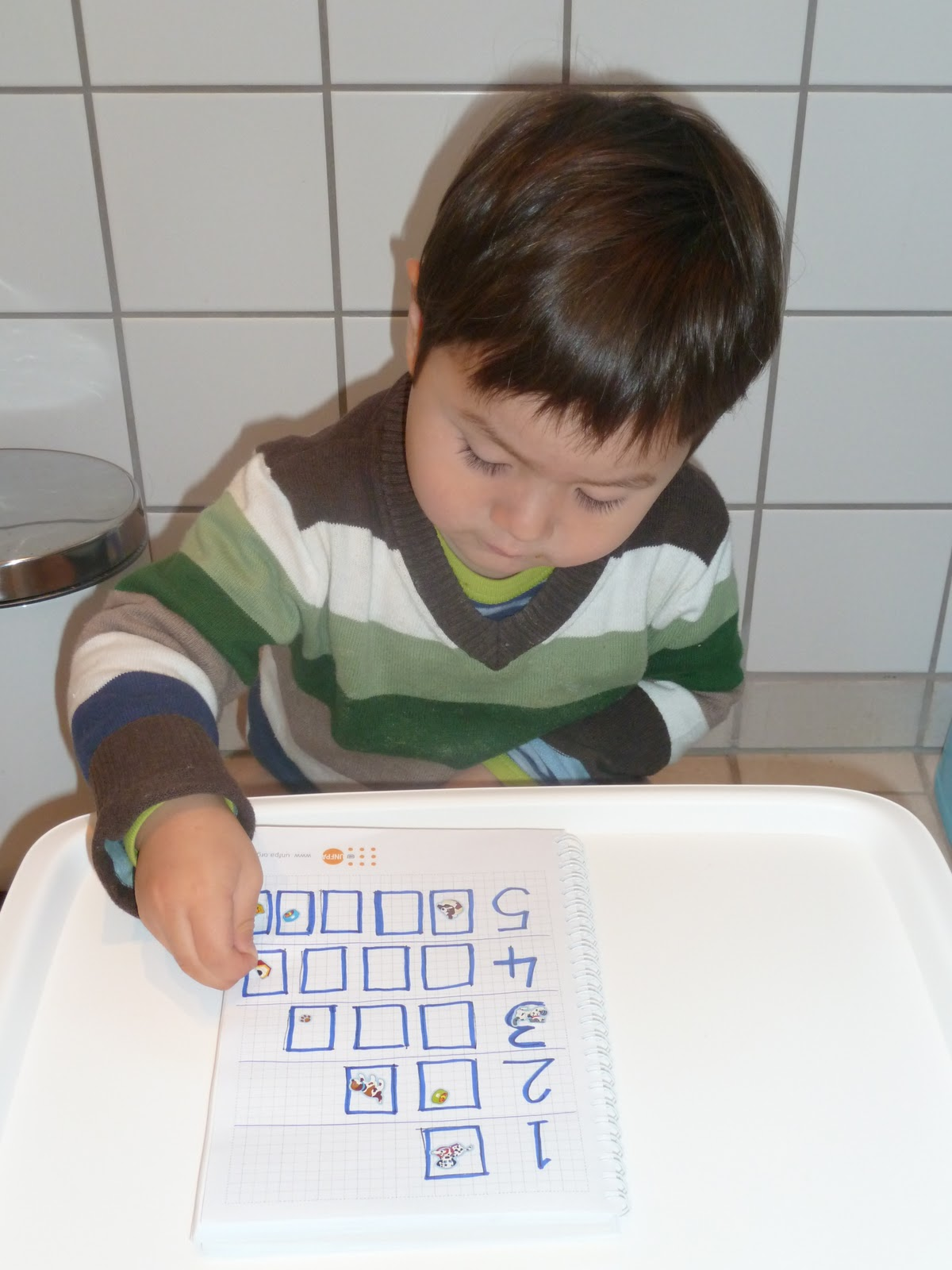 Family Fecs Montessori Activity Counting Objects With