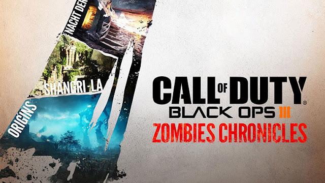 العرض الرسمي لأسلوب اللعب من حزمة Zombies Chronicles القادمة للعبة Black Ops III