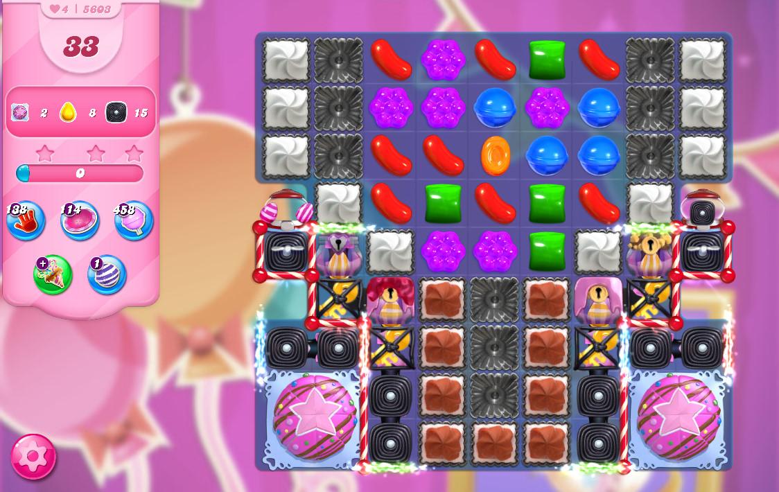 Candy Crush Saga level 5603