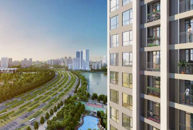Mô hình đô thị Singapore tại vincity