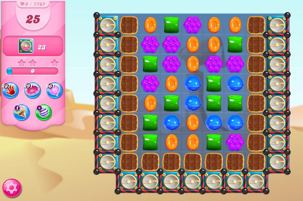 Candy Crush Saga level 7767