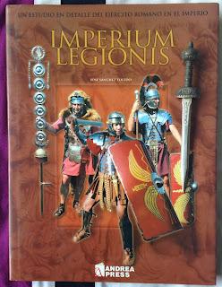 Portada del libro Imperium legionis, de José Sánchez Toledo