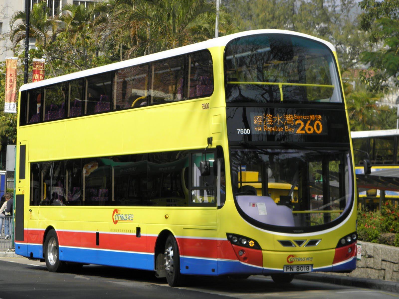 Hong Kong Bus Focus: 一月 2012