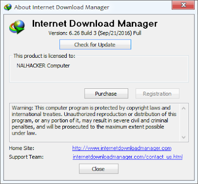 Internet Download Manager 6.26 Build 3 Full Version