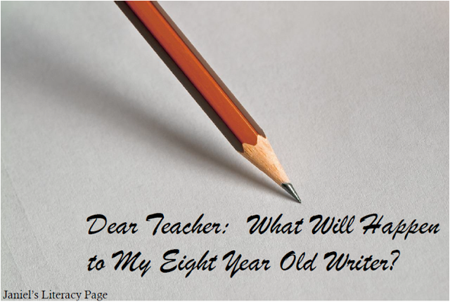 How are the pressures of testing affecting your writers?  How are they affecting your daily writing instruction?  Read this letter to a teacher--it may change your whole perspective on what really matters in the writing classroom.