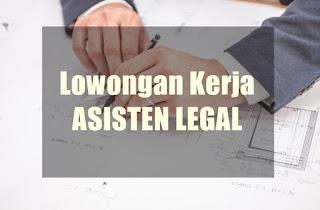 Lowongan Kerja Asisten Legal