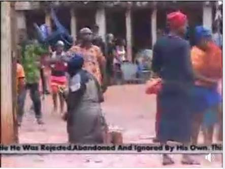 Popular Nigerian Priest Disguises As Beggar... see what happened