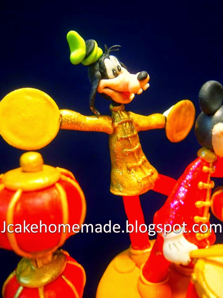 Jcakehomemade Mickey Mouse Clubhouse Birthday Cake米奇妙妙屋蛋糕
