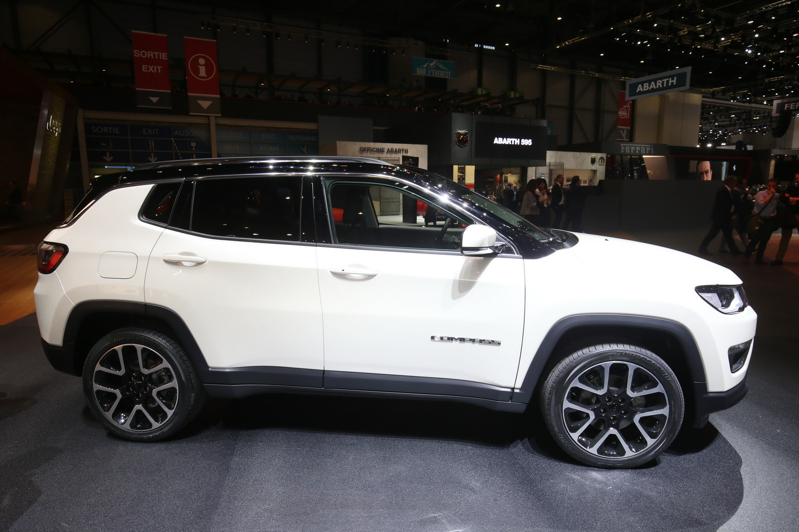 Popolare New Euro-Spec Jeep Compass Lands In Geneva To Challenge The Nissan  JH31