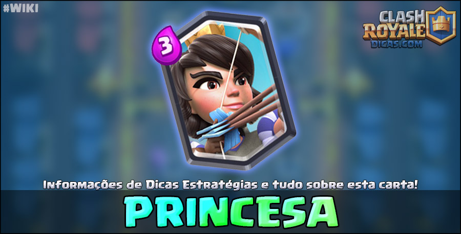 Carta da Princesa em Clash Royale
