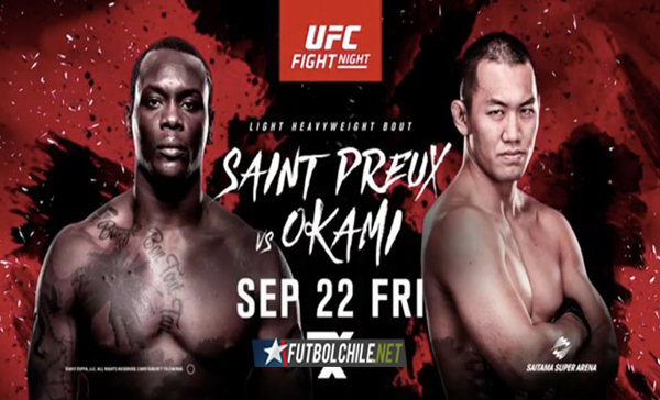 UFC Fight Night 117: Saint Preux vs. Okami