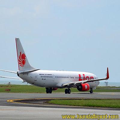 Dampak Ditutupnya Bandara Juanda, Penerbangan Lion Air Masih Delay