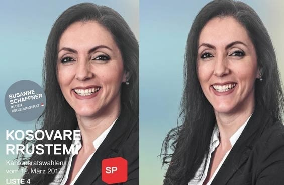 Kosovare Rrustemi aims a MP seat in Switzerland
