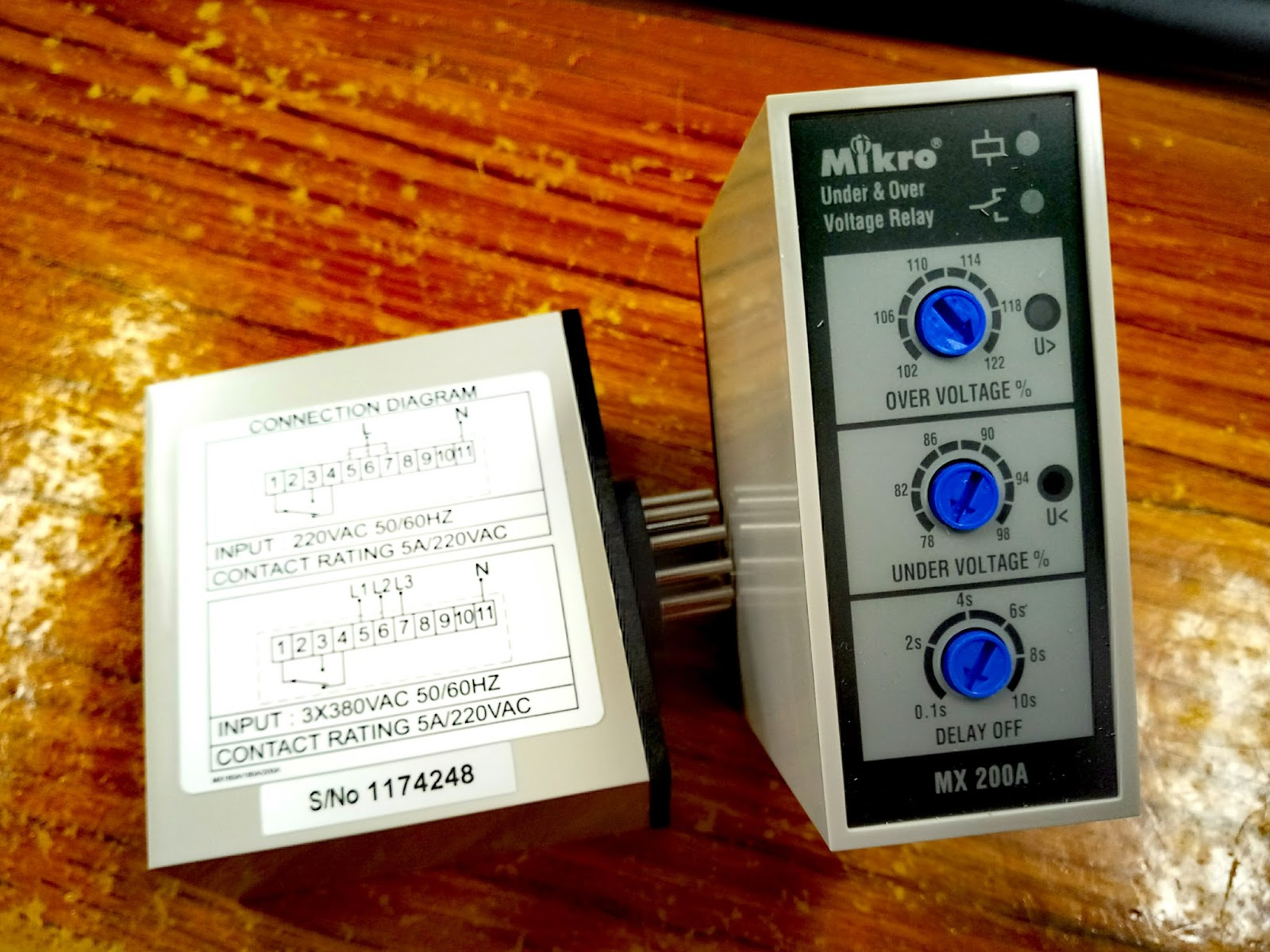 U8208 U660c U96fb U6a5f Hing Cheong   Overvoltage Phase Monitoring Relay In Hong Kong Market