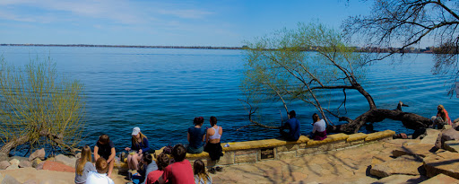 students at picnic point in madison wi
