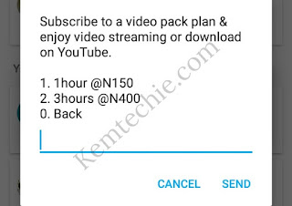 Subscribe for MTN YouTube Hourly data plans