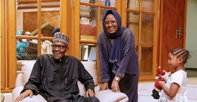 Aisha speaks on Buhari's health status