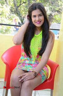 Telugu Actress Prasanna Stills in Short Dress at Inkenti Nuvve Cheppu Press Meet Stills  0143.JPG
