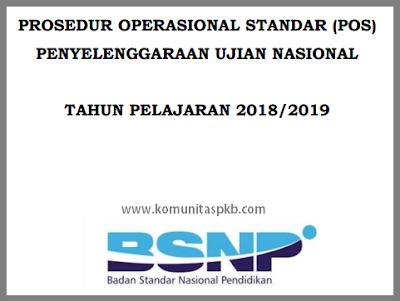 POS Ujian Nasional (UN) Tahun 2019