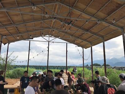 醸造所での収穫祭 (宇宙ブルーイング)