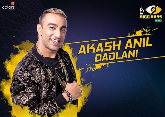 Akash Anil Dadlani (Bigg Boss 11 Contestant)