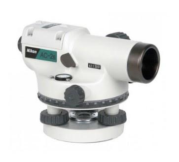Jual Automatic Level Waterpass Nikon AC-2S Jakarta : Keunggulan, Spesifikasi dan Kelengkapannya