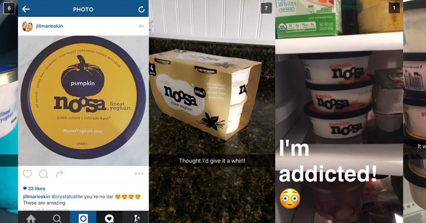 Calories in Noosa Pumpkin Yoghurt (Container) and ...