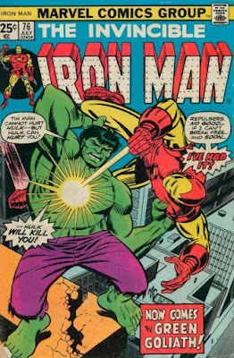 Iron Man #76, the Hulk