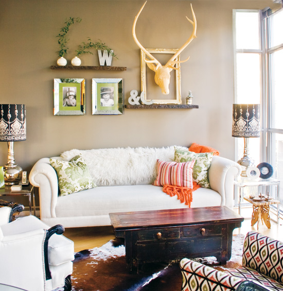 Eclectic Furnishings: 2012 Decorating Ideas:Vintage Eclectic Home Decorating