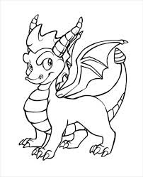 Best Ideas Spyro Dragon Coloring Pages