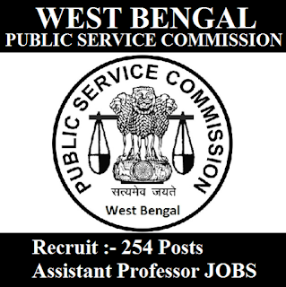 West Bengal Public Service Commission, PSCWB, PSC, WB, West Bengal, Assistant Professor, Post Graduation, freejobalert, Sarkari Naukri, Latest Jobs, pscwb logo