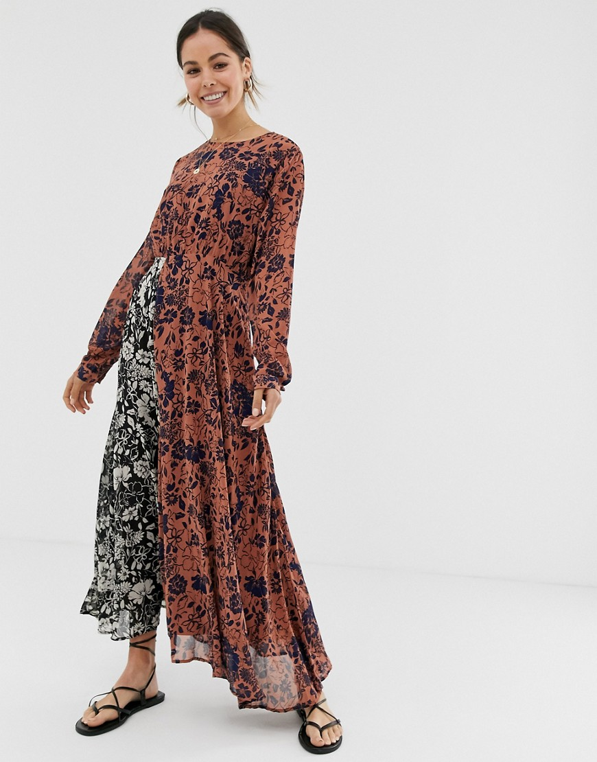 This Affordbale Floral Print Dress Is Perfect for Fall