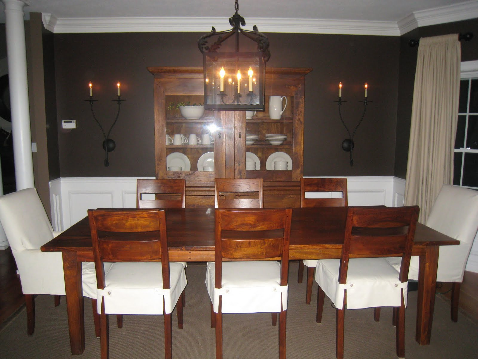 Restoration Hardware Chocolate Paint In A Dining Room We Designed