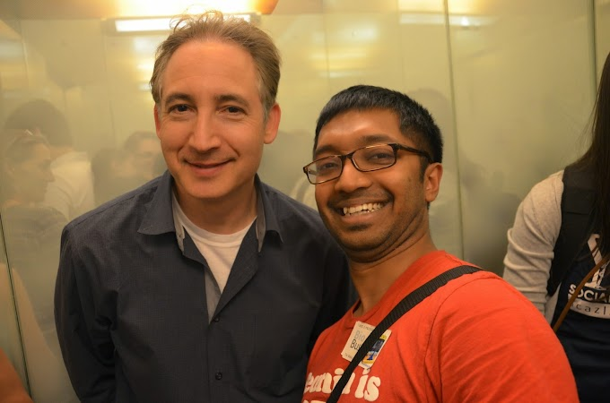 What an honor to meet Professor Brian Greene!