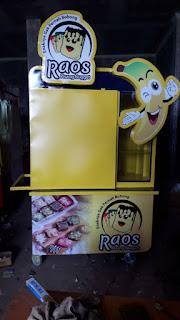 gerobak pisang nugget