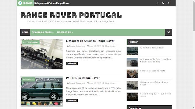 Nova imagem do site