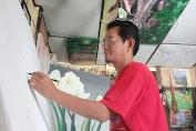 Karya Alhendra Daulay Pelukis Jambi Lolos Seleksi Galnas Indonesia