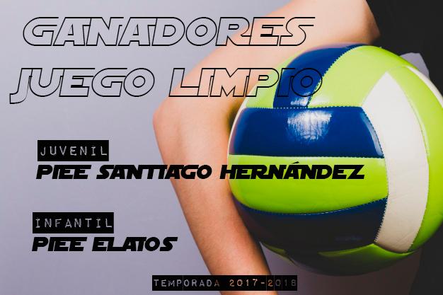 VOLEY CLASIFICACIÓN FINAL JUEGO LIMPIO Temp 17-18