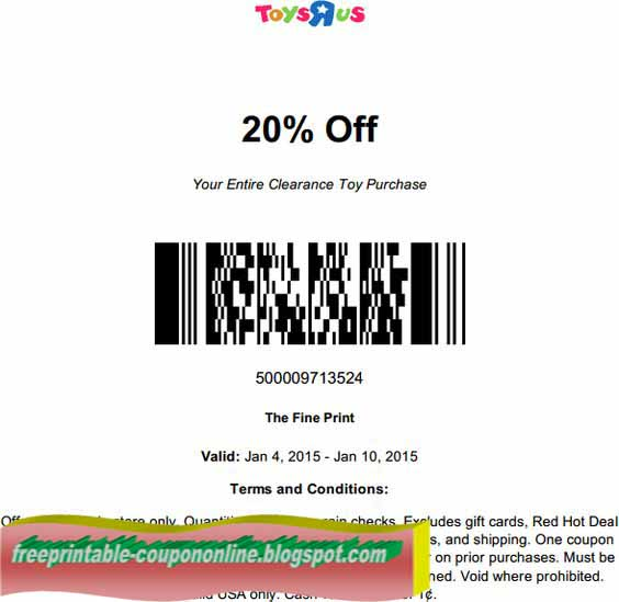 Toys r us online coupon codes september 2018