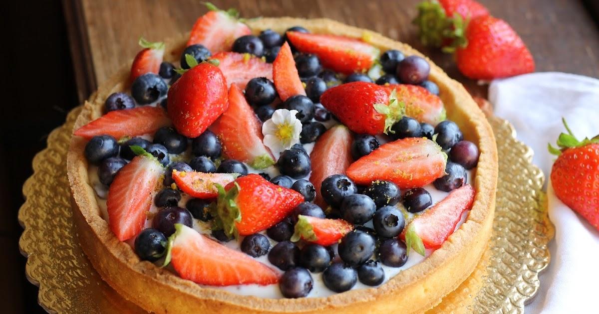 Crostata di frutta per il primo giorno di scuola...