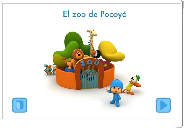 EL ZOO DE POCOYÓ (Juego de identificación de sonidos de animales)