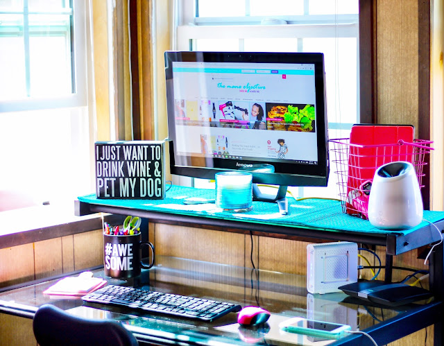 De-Cluttering My Home Office Space with Soultanicals Master Hair Cleanse Curl Detox