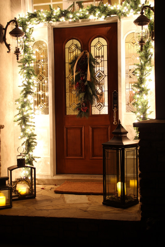 Savvy southern style front porch aka stoop for Hotel door decor