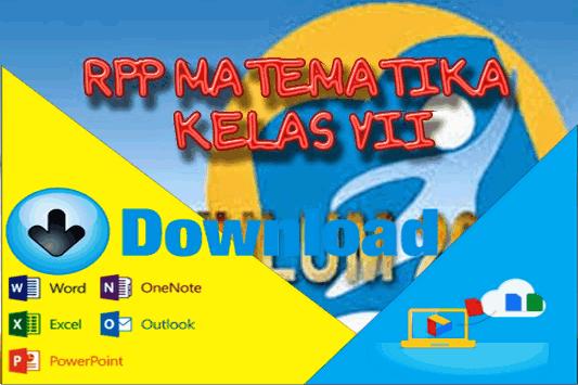 Download Contoh RPP Matematika SMP/MTs Kelas 7 Kurikulum 2013 Terbaru