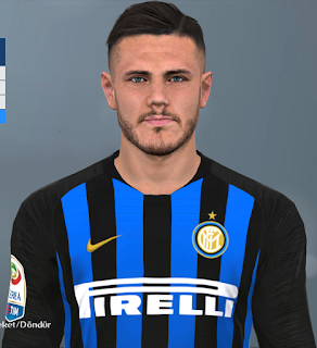 PES 2017 Faces Mauro Icardi by Huseyn