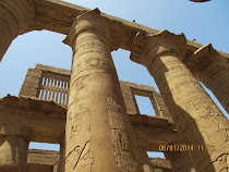 Columns and Lintels of Great Hypostyle Hall, Temple of Karnak (Luxor, Egypt)